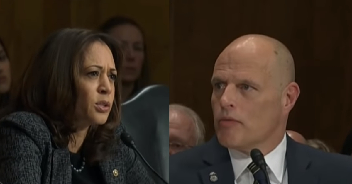 Kamala Harris Stuns Acting ICE Director With Allusion To KKK In Horrific Display Of DC Grandstanding