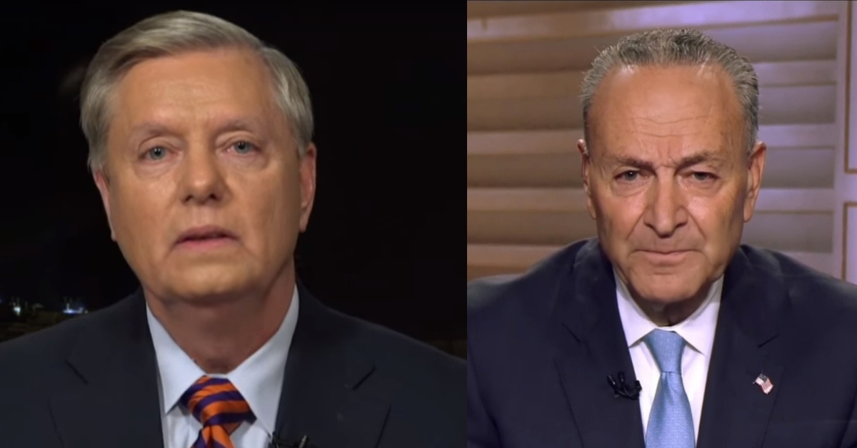 Lindsey Graham Checkmates Chuck Schumer, Ends His Reign Of Terror With Fiery Rebuke