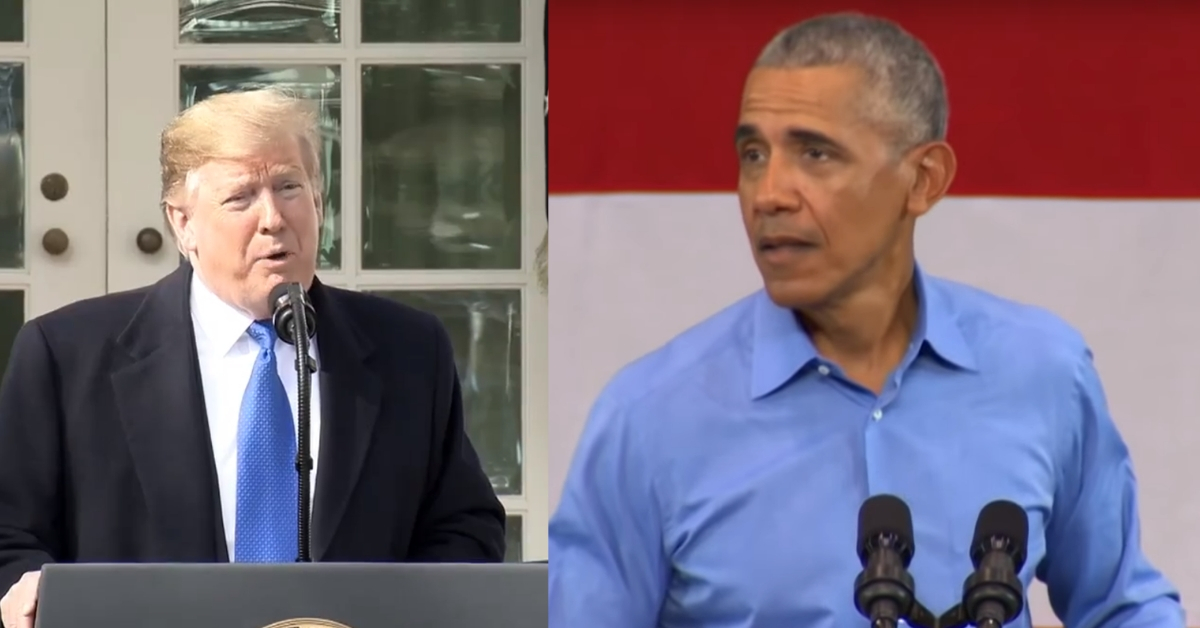 Legal Scholar Finds Skeletons In Obama's Closet That Guarantee Trump Wins Wall Fight In Court