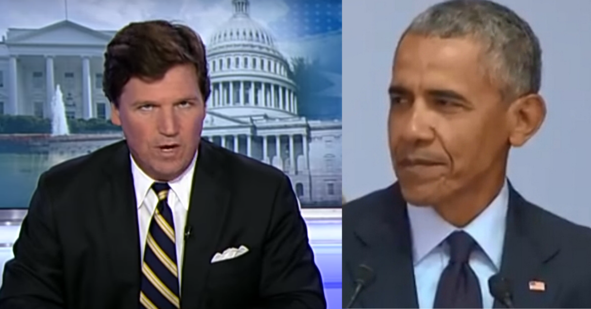 Tucker Carlson Catches Obama Breaking Quarantine To Golf, Publicly ...
